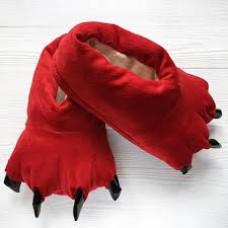 Тапки Лапки Красные
